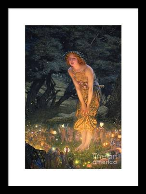 Fairy Framed Prints