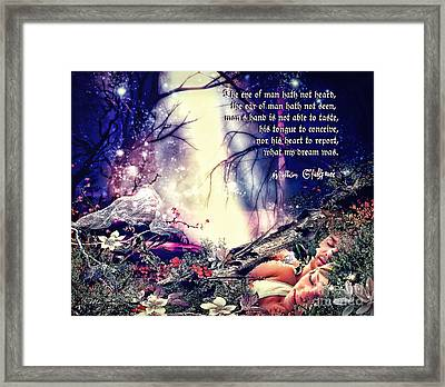 Midsummer Night Dream Framed Print