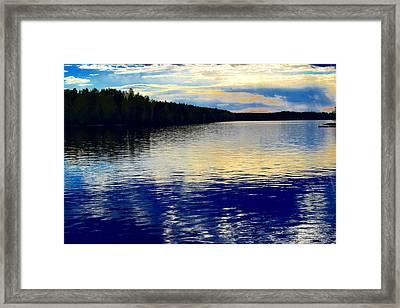 Midsummer Night Framed Print
