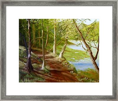 Midsummer Walk Framed Print
