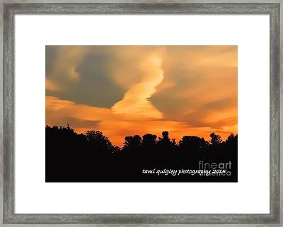Midsummerset Framed Print