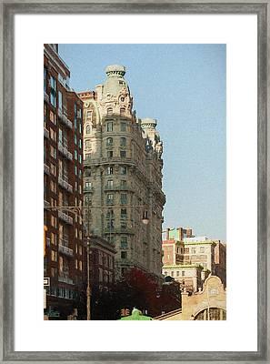 Midtown Manhattan Apartments Framed Print