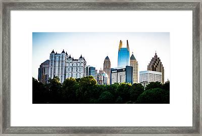 Midtown Skyline Framed Print