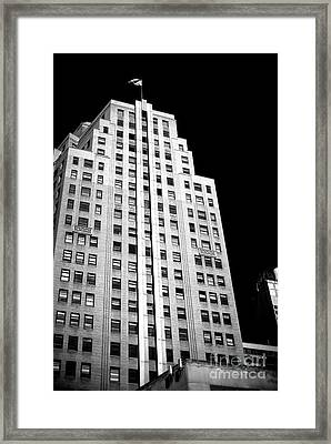 Framed Print featuring the photograph Midtown Style by John Rizzuto