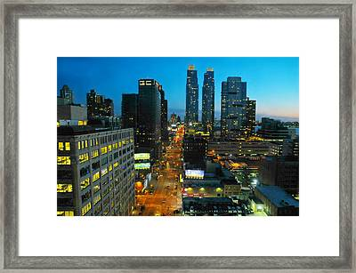 Midtown West  Framed Print by Diana Angstadt