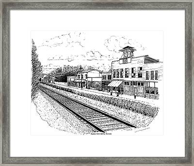 Midway Kentucky Framed Print
