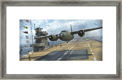 Midway Marauder Framed Print by Robert Perry