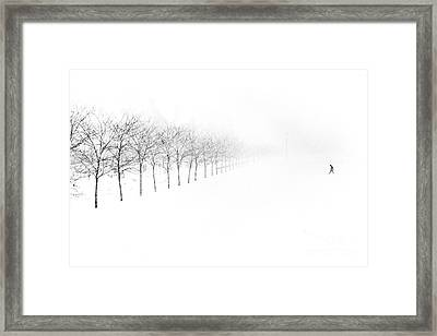 Midway Plaisance Framed Print by Jim Wright