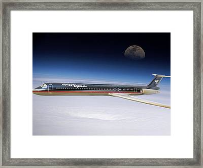 Midwest Express  Framed Print