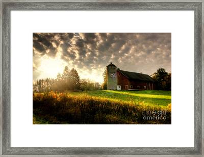 Midwest Morning Framed Print