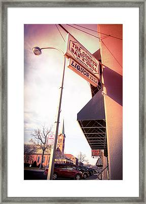 Midwest Small Town Framed Print by Susan Stone