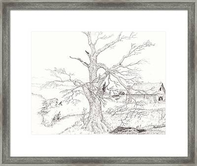Midwest Usa Framed Print by Dan Theisen