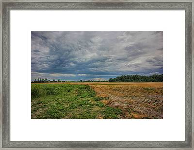 Midwest Weather Framed Print