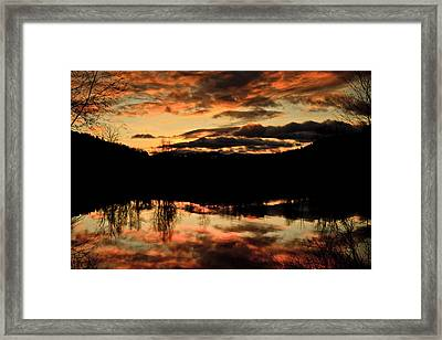 Midwinter Sunrise Framed Print