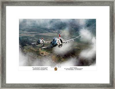 Framed Print featuring the digital art Migcap Duty - Phu Ly by Peter Chilelli