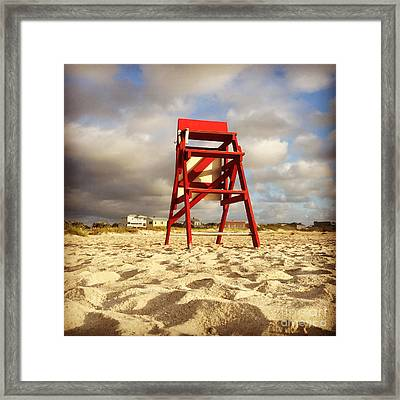 Mighty Red Framed Print