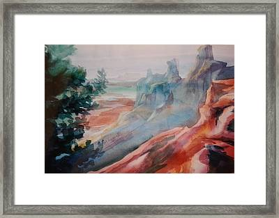 Mighty Canyon Framed Print