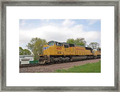 Mighty Engine Framed Print