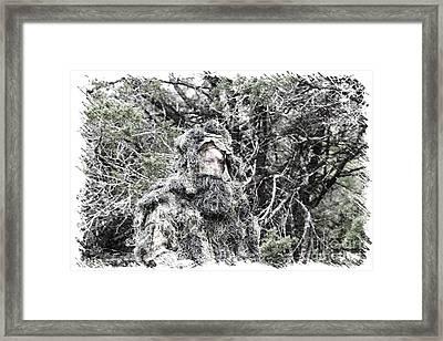 Mighty Hunter Framed Print by Beth Wiseman