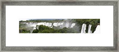 Mighty Iguazu Framed Print by Andrei Fried