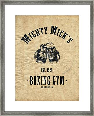 Mighty Micks Framed Print