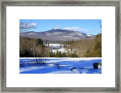 Mighty Mt. Chocorua 2013 Framed Print