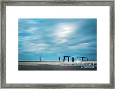 Mighty Pier Framed Print