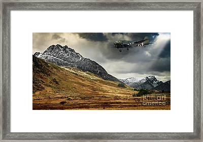 Mighty Tryfan Snowdonia Framed Print