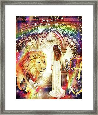 Mighty Warrior Framed Print