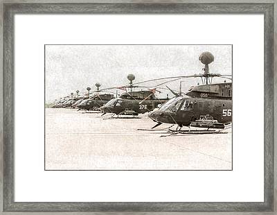 Mighty Warriors Framed Print