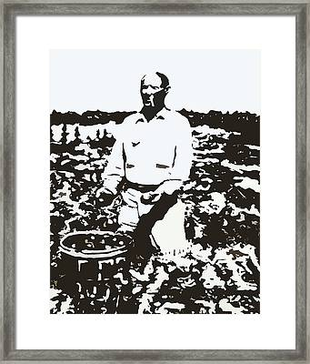 Migrant Farmer Framed Print