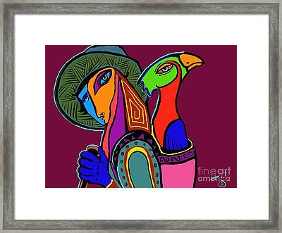 Migrating Bird Framed Print