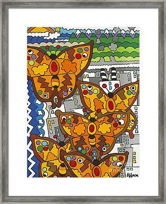 Migration Framed Print by Rojax Art