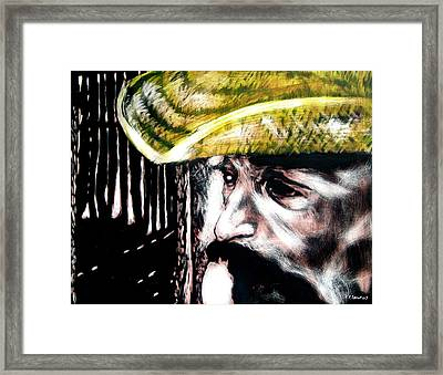 Miguel Framed Print by Chester Elmore