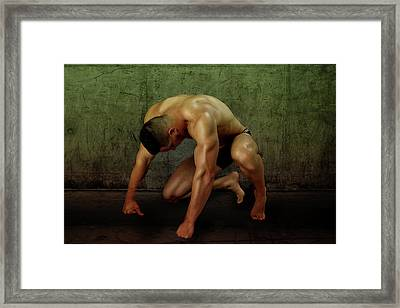 Mike 6 Framed Print by Mark Ashkenazi
