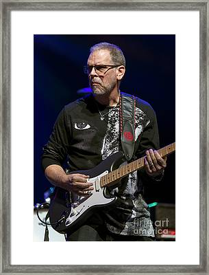 Mike Barnes Framed Print by David Oppenheimer