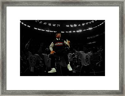 Mike Ditka Framed Print by Brian Reaves