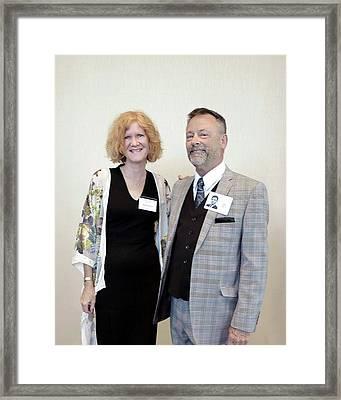 Mike Hurst Framed Print
