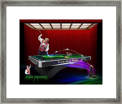 Mike Massey  Framed Print by Draw Shots