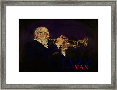 Mike Vax Framed Print by Laurie Tietjen