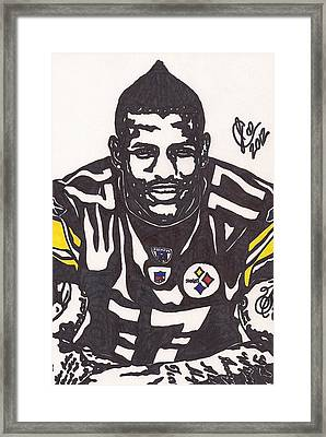 Mike Wallace 1 Framed Print by Jeremiah Colley