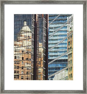 Miksang 10 Reflect Framed Print by Theresa Tahara