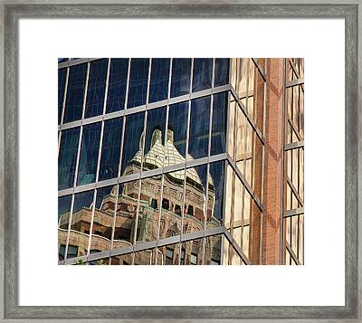 Miksang 9 City Framed Print by Theresa Tahara