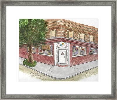 Milady's Bar In Soho Framed Print