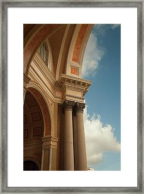 Milan Arches Framed Print by Art Ferrier