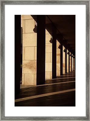 Milan Columns Framed Print by Art Ferrier