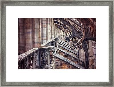 Milan Duomo In Detail  Framed Print