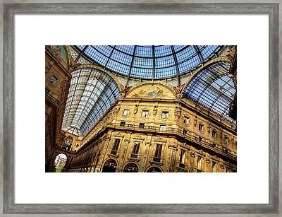 Milan Galleria Vittorio Emanuele II  Framed Print