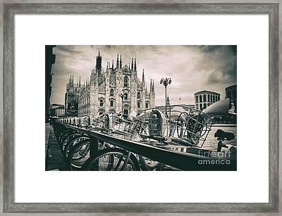 Milan Metropolitan City Framed Print by Alessandro Giorgi Art Photography