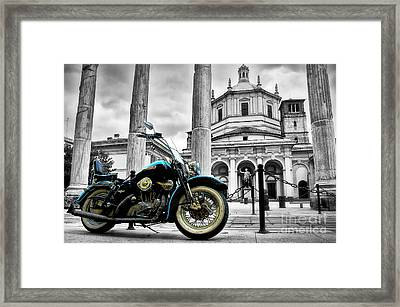 Milan__ Monument S Framed Print by Alessandro Giorgi Art Photography